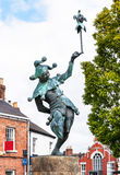 Jester statue in Stratford-upon-Avon in, England Stock Images