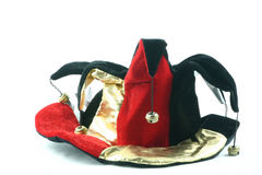 Jesters hat. Fun hat worn by a jester Stock Images