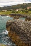 Jesters la Franca in Llanes. Asturias Spain Stock Image