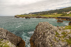 Jesters la Franca in Llanes Royalty Free Stock Photography