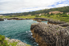 Jesters la Franca in Llanes Royalty Free Stock Images