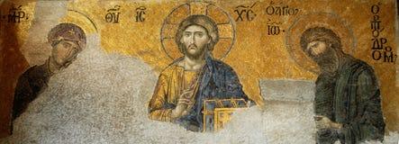 Jesucristo en Hagia Sophia Fotografía de archivo libre de regalías
