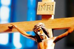 Jesucristo en la cruz Fotografía de archivo libre de regalías