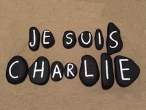 Jesuis Charlie Stock Foto's