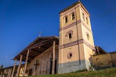 Jesuit-Auftrag in Santiago de Chiquitos, Bolivien lizenzfreie stockbilder