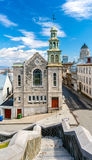 The Jesuit Chapel in Quebec City, Canada royalty free stock photography