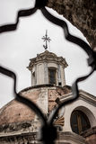Jesuit church dome Stock Photography