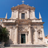 Jesuit Church of Dubrovnik Stock Image
