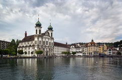 Jesuit Church, Lucerne Royalty Free Stock Photo