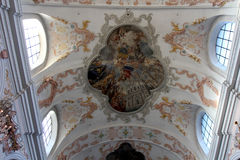 Jesuit Church in Lucerne Royalty Free Stock Photos