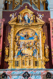 Jesuit church in Lucerne Royalty Free Stock Image