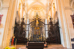 Jesuit church in Lucerne Stock Images
