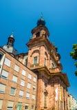 Jesuit Church in Mannheim - Germany Stock Image