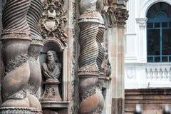 Jesuit Church in Quito, Ecuador Stock Images