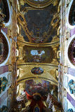 The Jesuit Church, Vienna Stock Photo