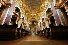 The Jesuit Church, Vienna Royalty Free Stock Photo