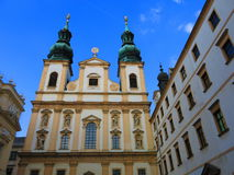 The Jesuit Church in Vienna Stock Photo