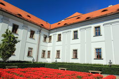 Jesuit college in Klatovy Royalty Free Stock Images