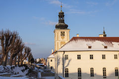 Jesuit College in Kutna Hora Stock Images