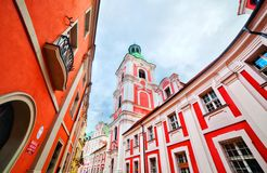 Jesuit College in Poznan, Posen, Poland Stock Image