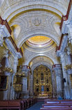 Jesuit-Kirche-La compania. Arequipa Peru Stockfoto