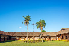 Free Jesuit Mission Courtyard Royalty Free Stock Image - 43830266