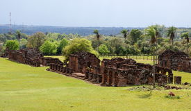 Free Jesuit Mission Ruins In Trinidad Paraguay Royalty Free Stock Image - 24269516