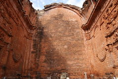 Jesuit mission Ruins in Trinidad Paraguay Stock Photo