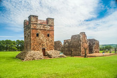 Jesuit missions in Paraguay Stock Photo