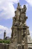 Jesuit priest, Kutna Hora. Stock Image