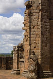 Jesuit Ruins in Trinidad. Paraguay Royalty Free Stock Photo