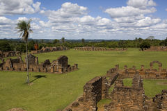 Jesuit Ruins in Trinidad Stock Image