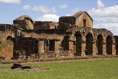 Jesuit Ruins in Trinidad. Paraguay Royalty Free Stock Photos