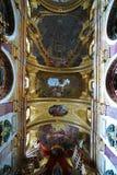 jesuit Vienna do kościoła Zdjęcie Stock