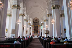 Jesuiten church in Heidelberg Royalty Free Stock Photos