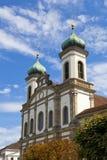 Jesuitenkirche (église de jésuite) à Lucerne Photo stock