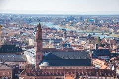 Jesuitenkirche Heidelberg Deutschland lizenzfreie stockbilder