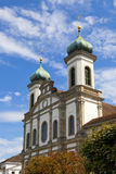 Jesuitenkirche (Jesuit Church) in Luzern Stock Photo