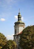 Jesuithögskola i Kutna Hora för republiktown för cesky tjeckisk krumlov medeltida gammal sikt royaltyfri bild