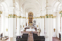 Jesuitical Church in Heidelberg Royalty Free Stock Photography