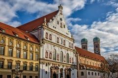 Jesuitkyrka i Munich Arkivbilder