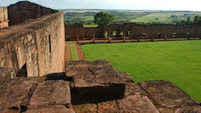 JesuitTinidad beskickning, Paraguay Arkivbild