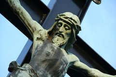 Jesus. Close-up of a crucified Jesus Christ Royalty Free Stock Image