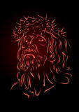 Jesus. Passion of the Christ illustrated Stock Images