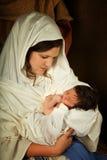 Jesus addormentato Fotografia Stock Libera da Diritti