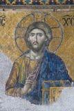 Jesus. An ancient mosaic depicting Jesus Christ Stock Images