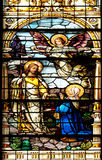 Jesus aparece a sua mãe imagens de stock royalty free