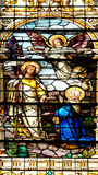 Jesus aparece a sua mãe foto de stock royalty free