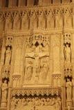 Jesus auf einem Kreuz Stockbilder