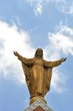 Jesus auf Wolke Lizenzfreie Stockfotografie